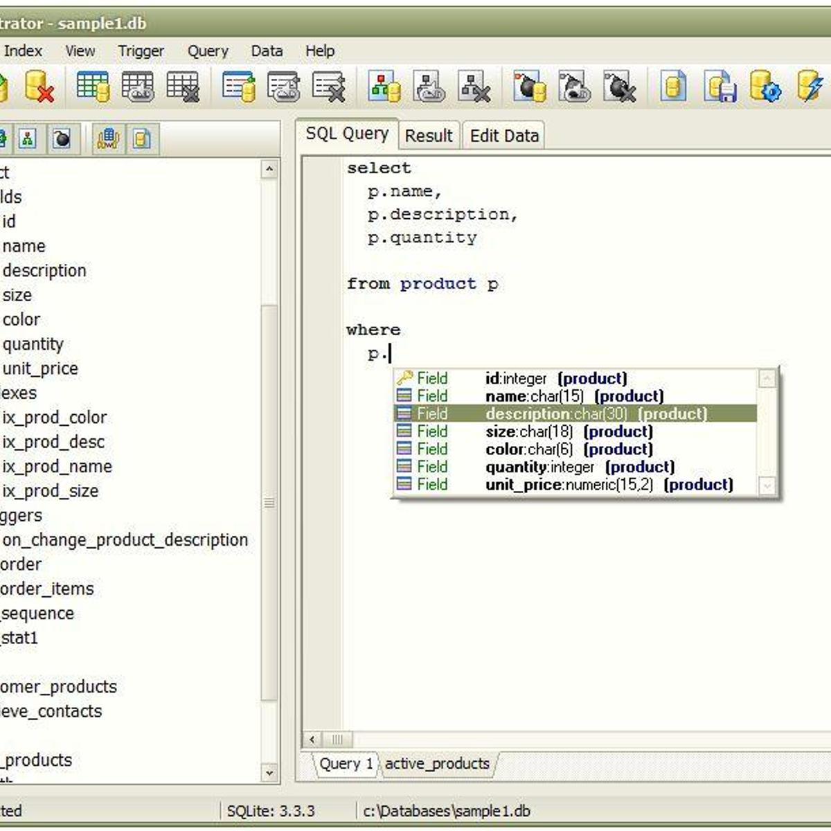 sqlite editor linux