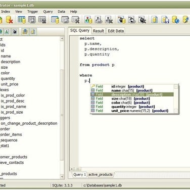 SQLite Administrator Alternatives and Similar Software