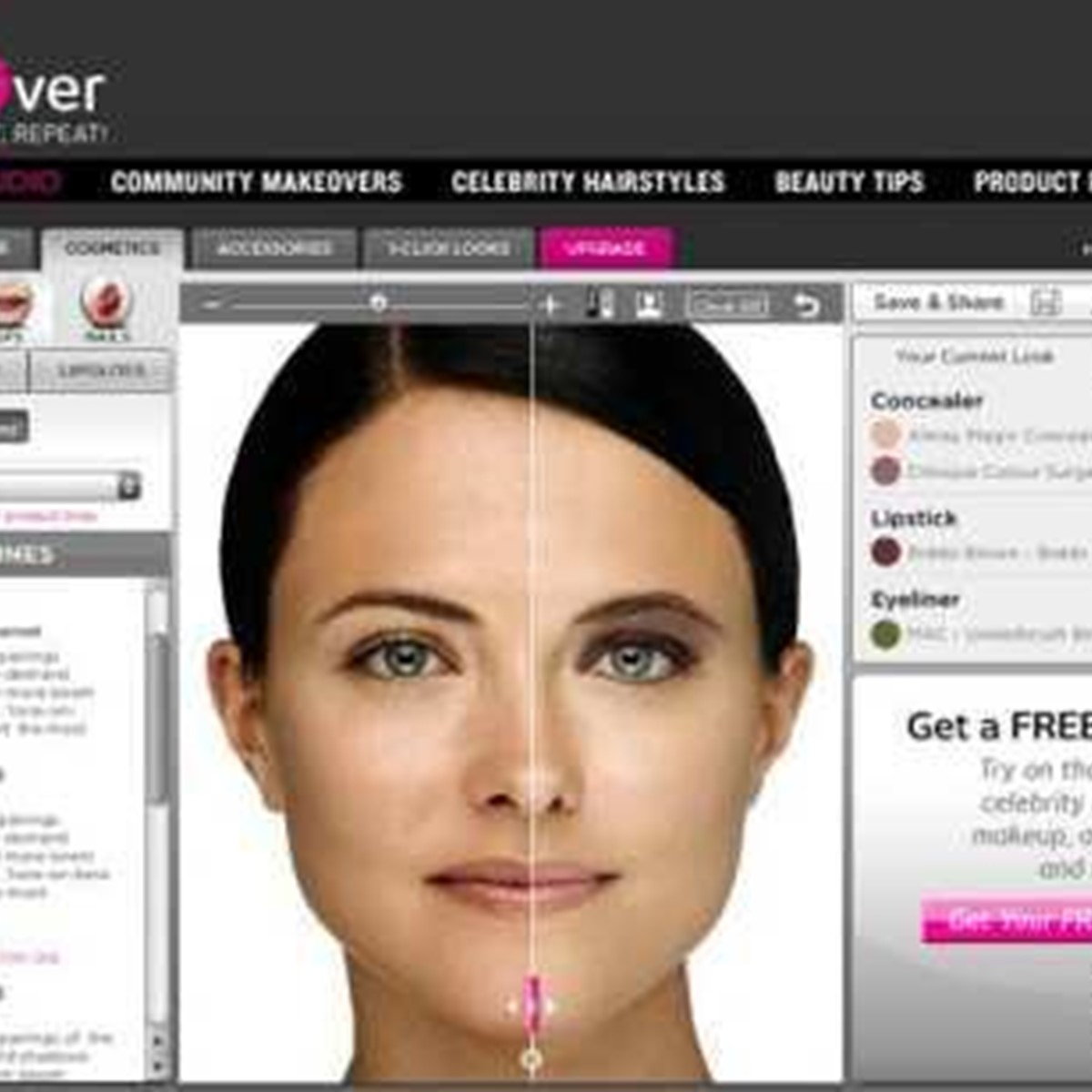 Virtual Makeover Alternatives And Similar Websites And