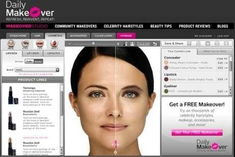 Virtual Makeover Alternatives And Similar Websites And Apps