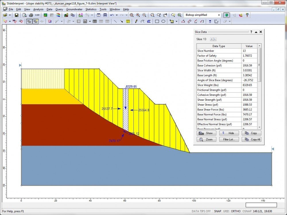 how to add stabillity to a slope