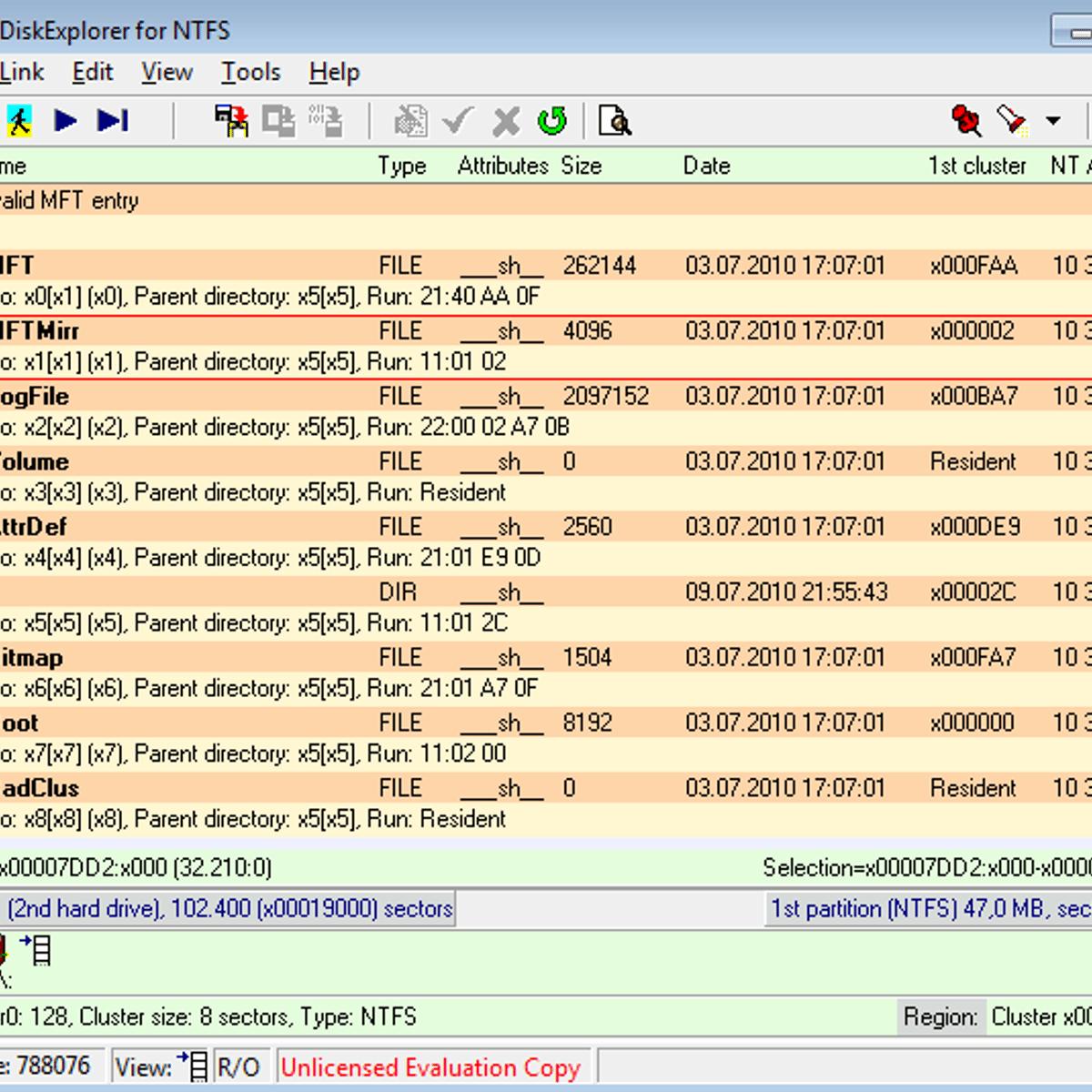 DiskExplorer Alternatives and Similar Software
