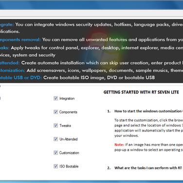 RT Se7en Lite Alternatives and Similar Software