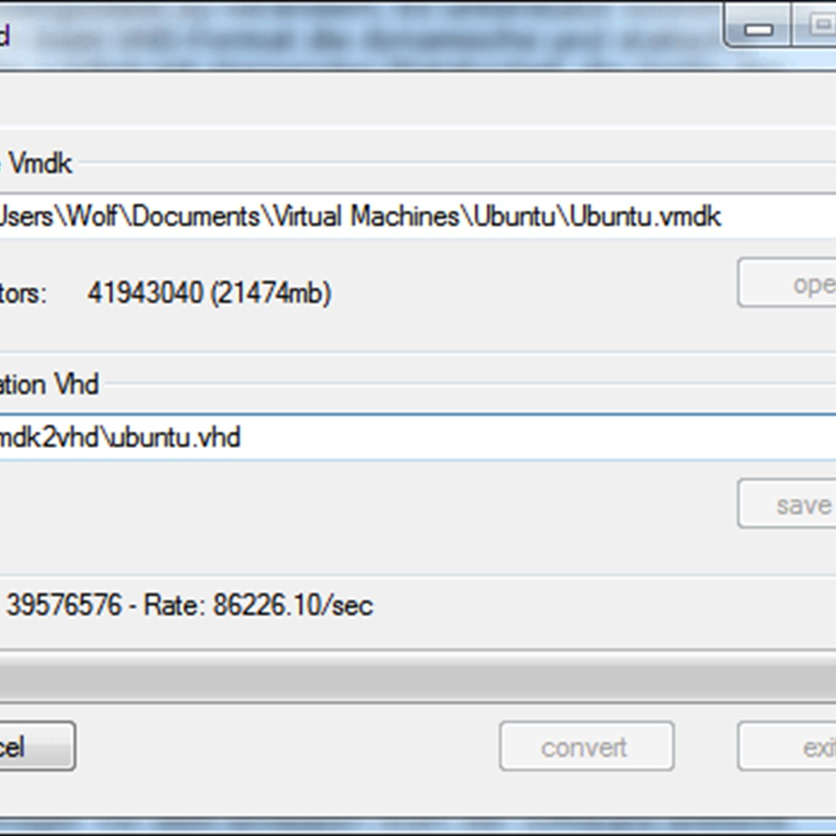 vmToolkit VMDK2VHD Alternatives and Similar Software