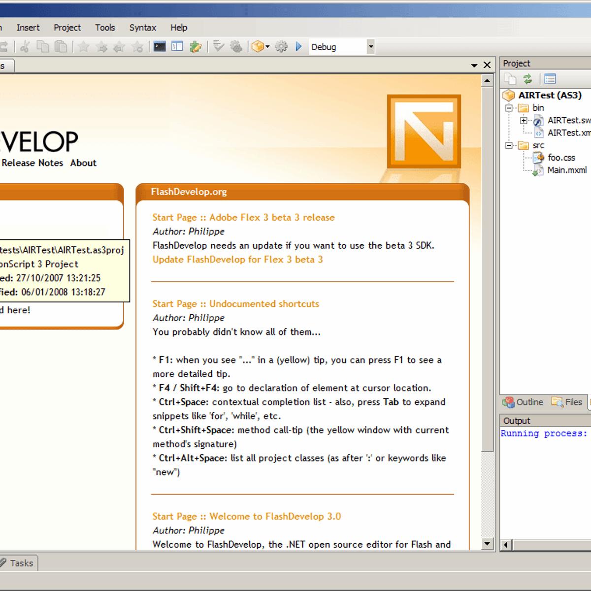 FlashDevelop Alternatives for Mac - AlternativeTo net