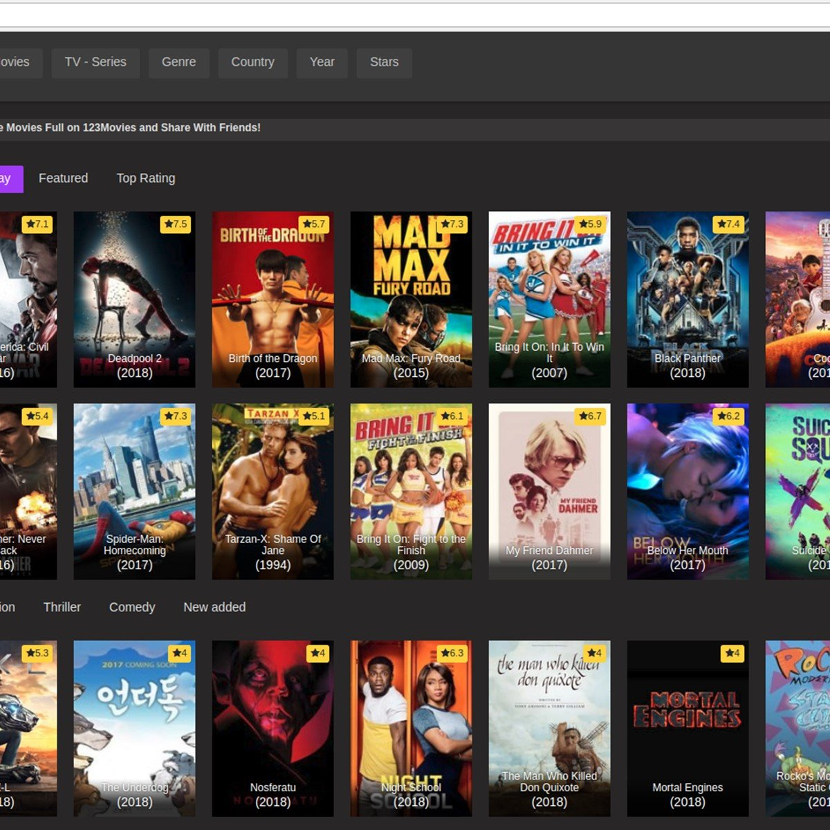 123Movies Alternatives and Similar Websites and Apps