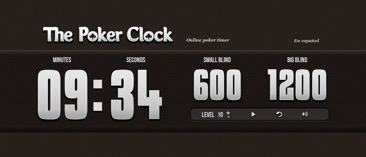 the poker clock alternatives tagged with blinds. Black Bedroom Furniture Sets. Home Design Ideas