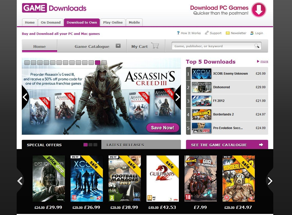 Game Downloads Alternatives And Similar Games