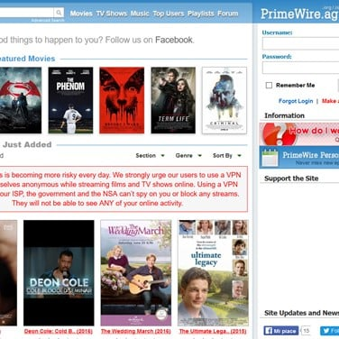 PrimeWire Alternatives and Similar Websites and Apps