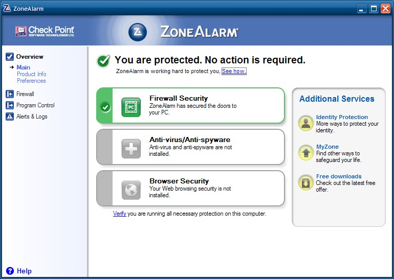 ZoneAlarm Free Firewall Alternatives and Similar Software