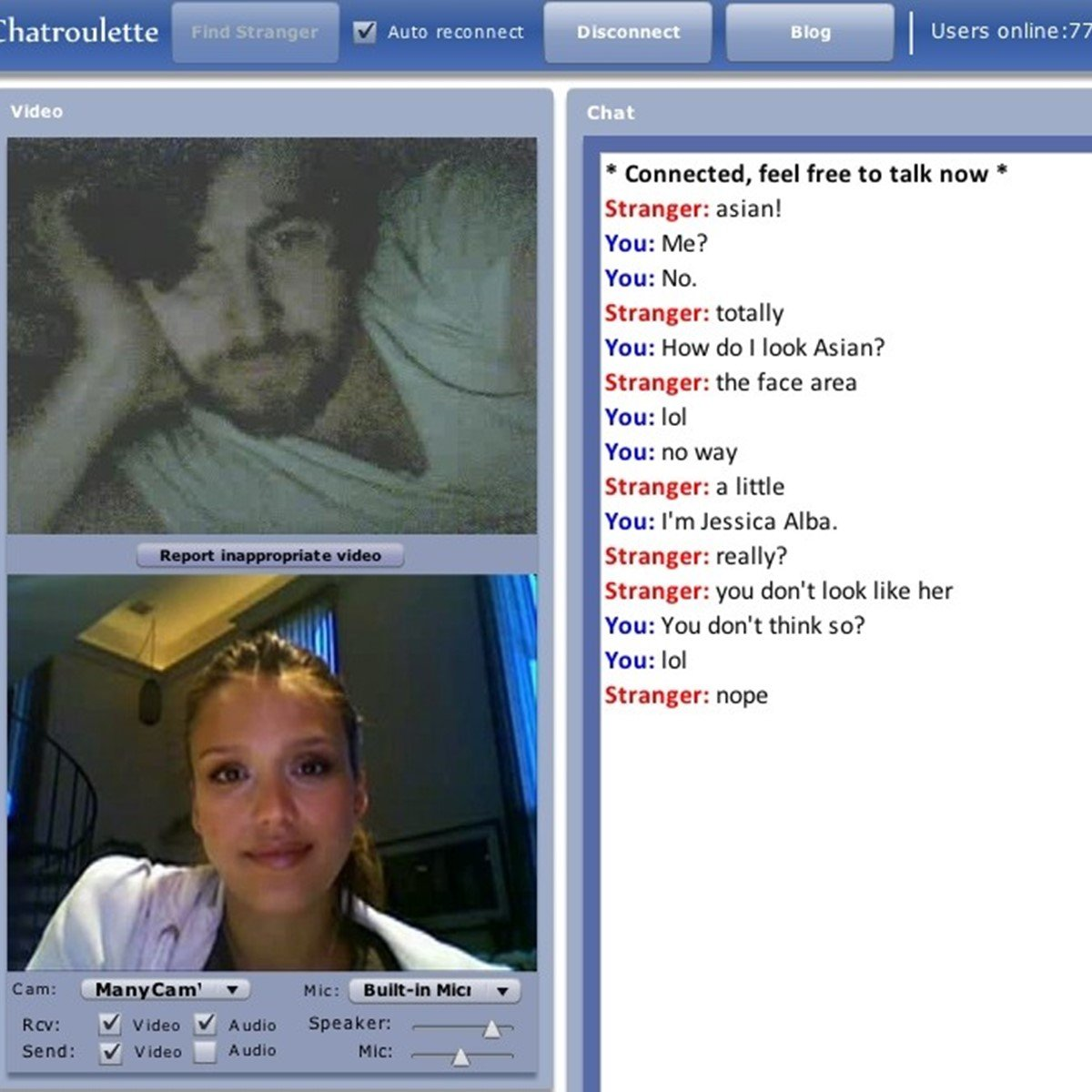 chatroulette similar sites