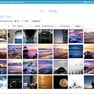 Search flickr photos. icon