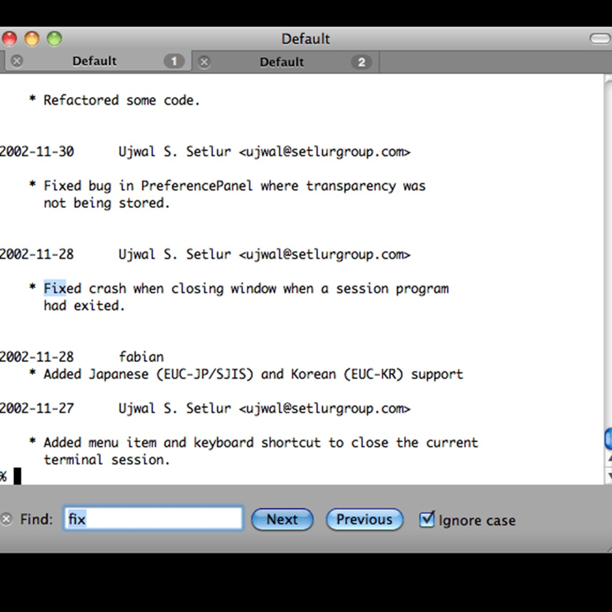 ITerm2 Mac OS Terminal Replacement My Favorite Web and