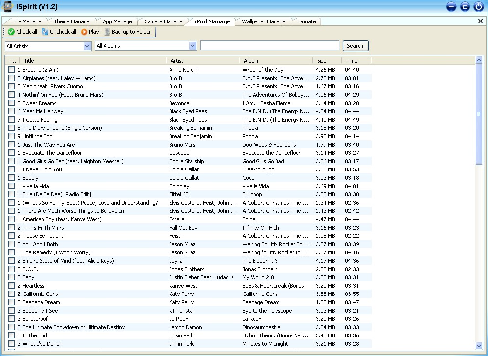 Manage iPod music. iSpirit Alternatives and Similar Software   AlternativeTo net