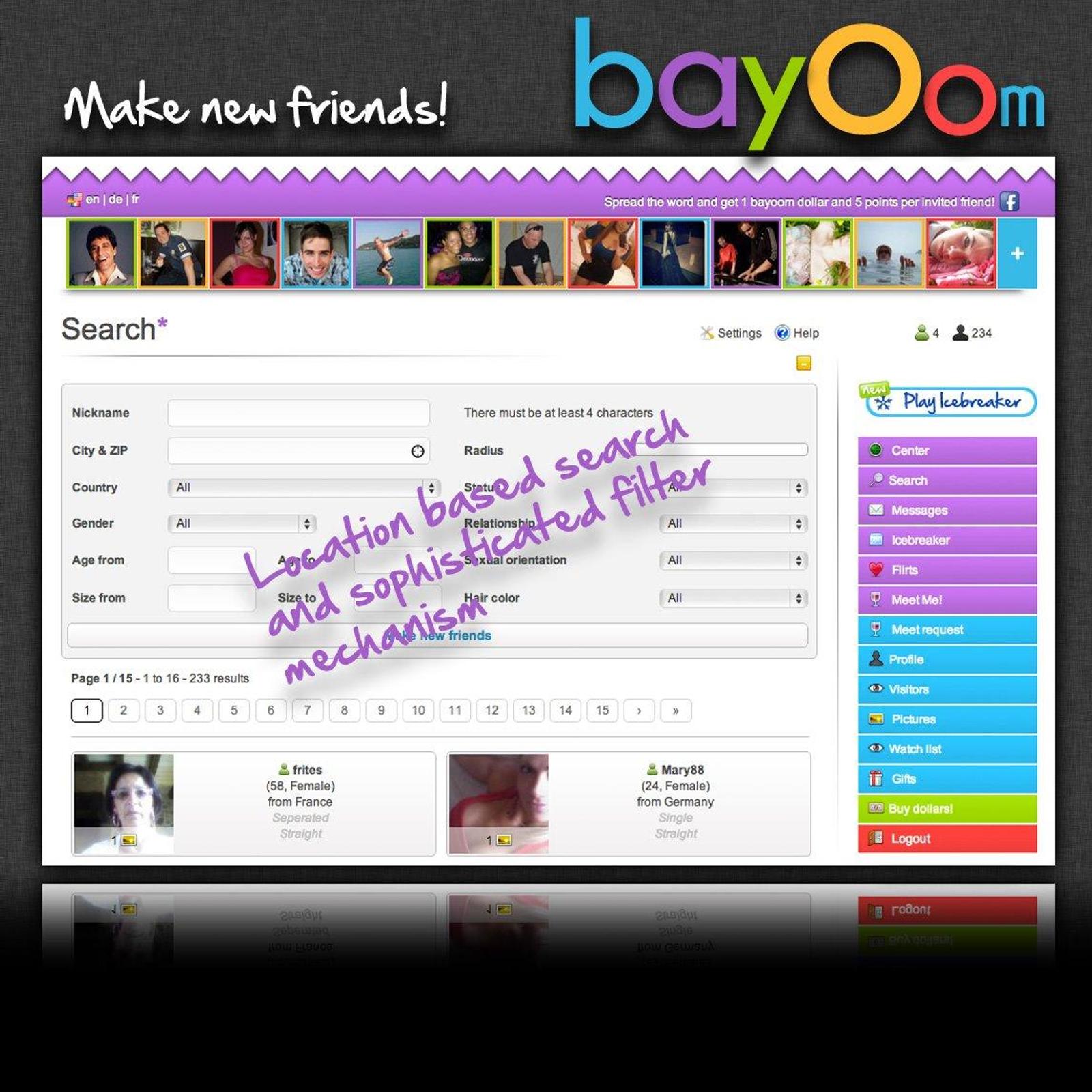 Dating sites similar badoo chat 7