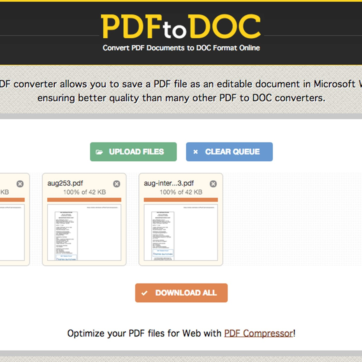 PDF2DOC com Alternatives and Similar Websites and Apps