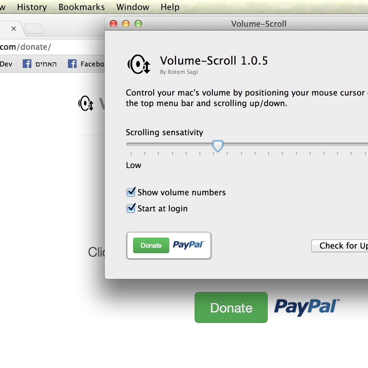 Volume Scroll Alternatives and Similar Software