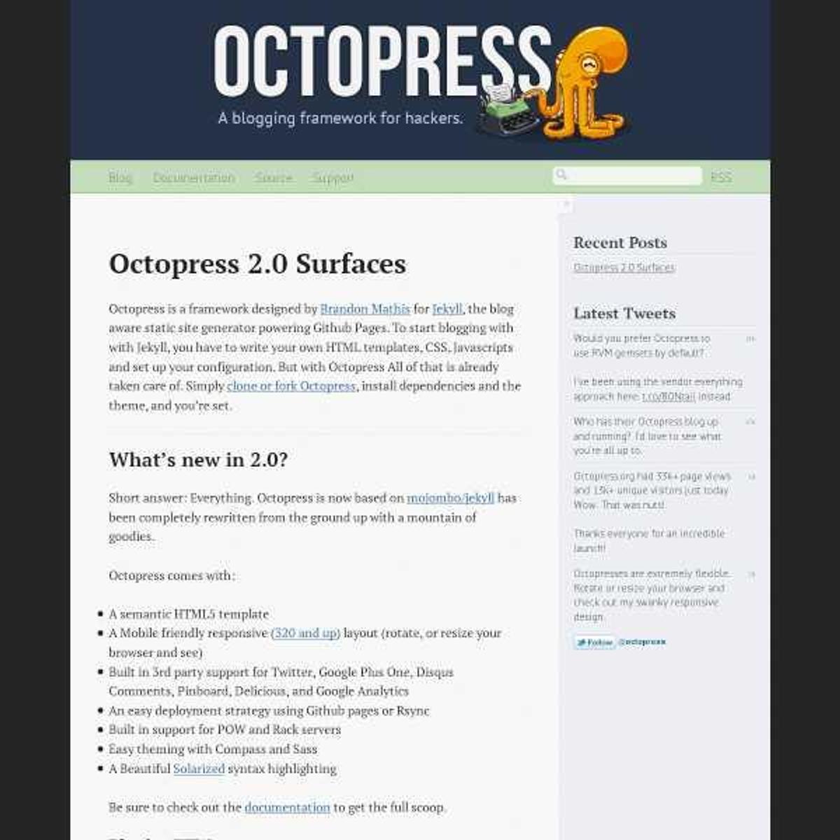 Octopress Alternatives and Similar Software - AlternativeTo net