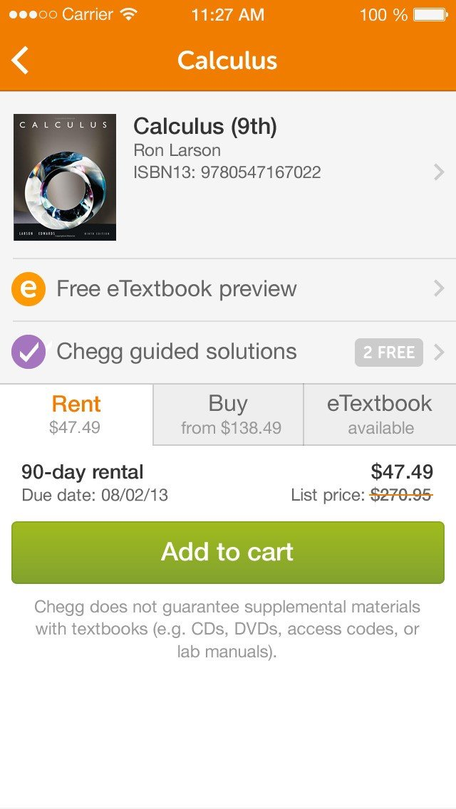 Get Chegg Free Trial – Free Chegg Account equips learners with an array of digital academic services. From origins as a textbook renter, Chegg has since expanded its operation to include online homework help, course reviews, and personal online time2one.tk Free Trial account is only valid for 7 days and after that you need to cancel Chegg Free Trial.