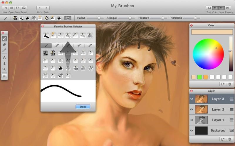 Mybrushes mac art