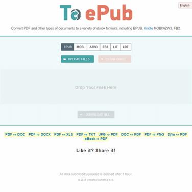 2EPUB Alternatives and Similar Websites and Apps
