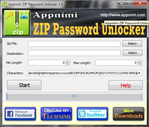 appnimi zip password unlocker serial