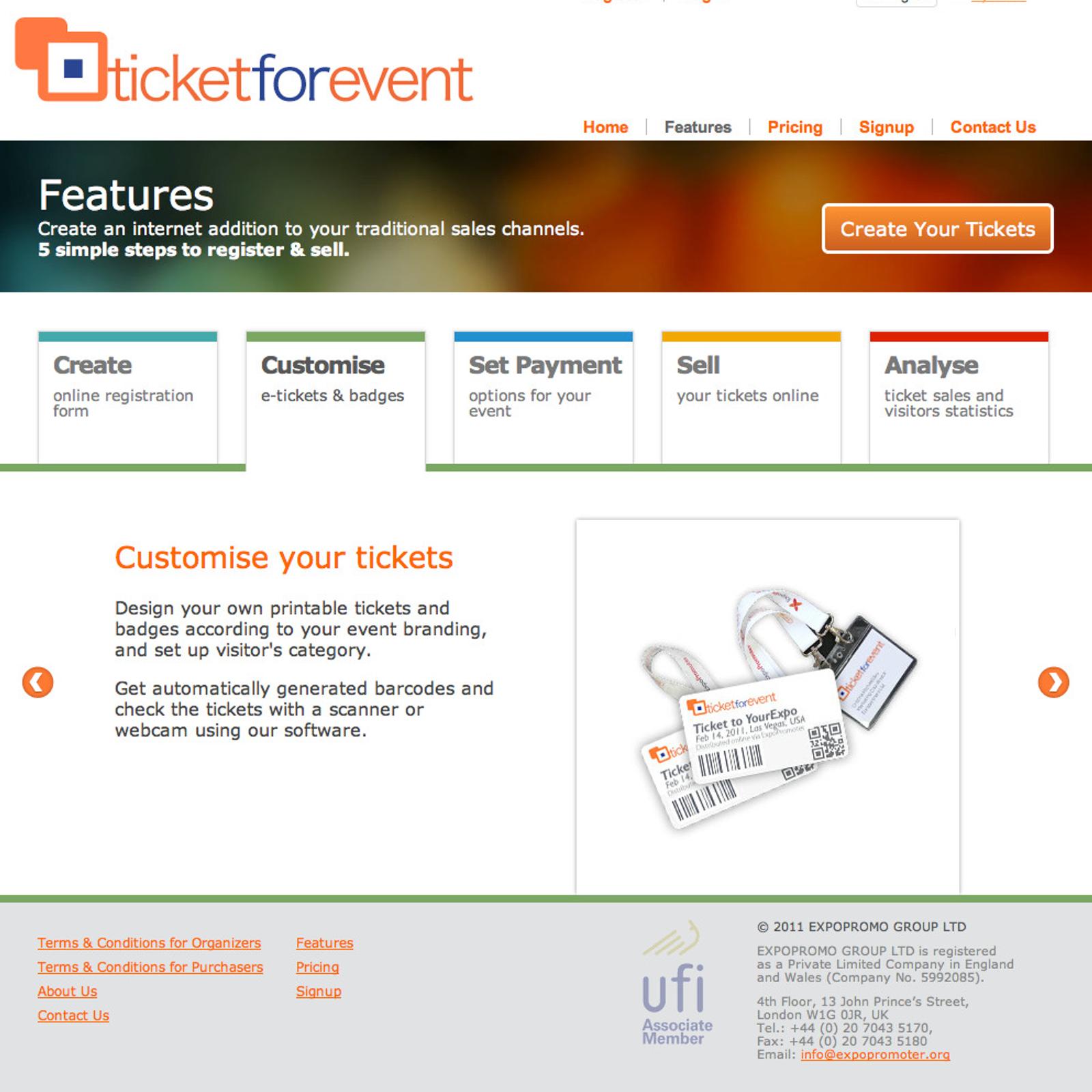 ticketforevent com alternatives and similar websites and apps