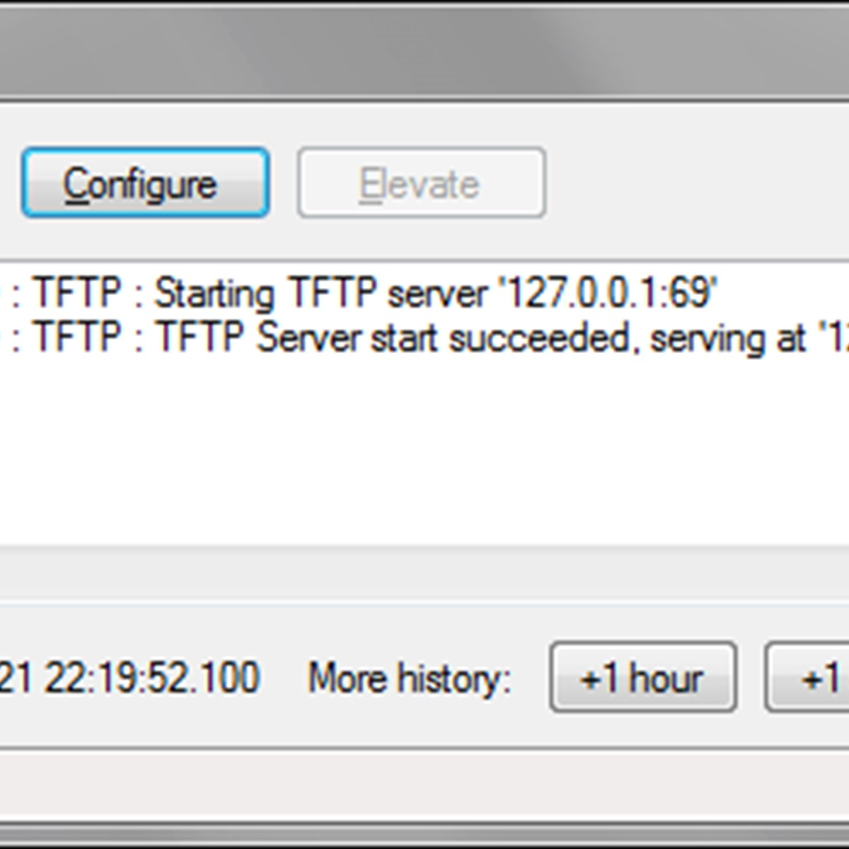 Tftp server tsize option