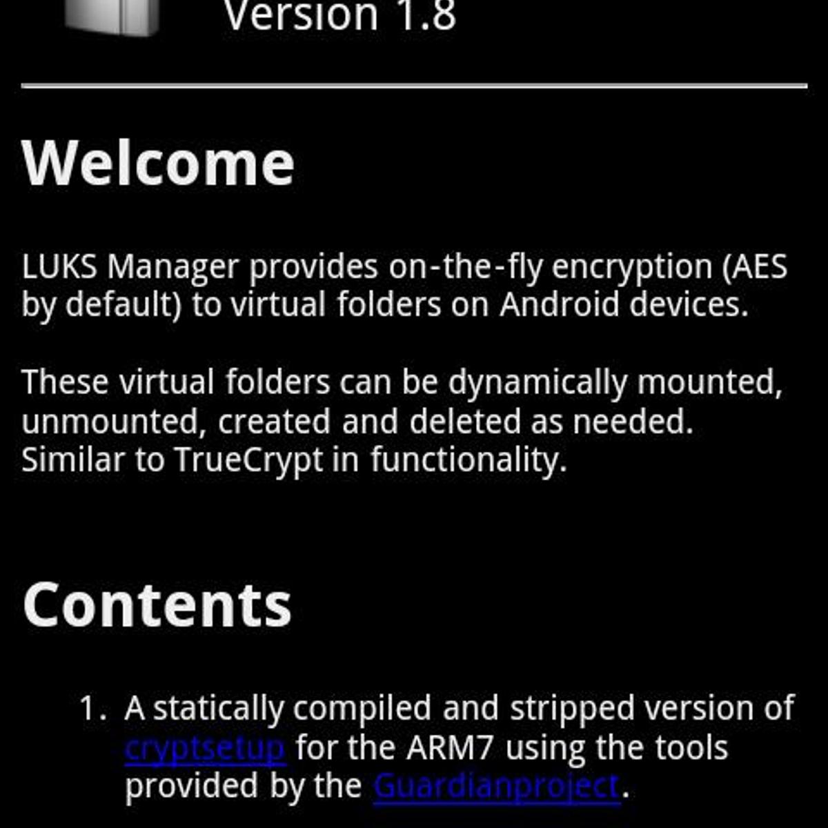 Luks manager Alternatives and Similar Apps - AlternativeTo net