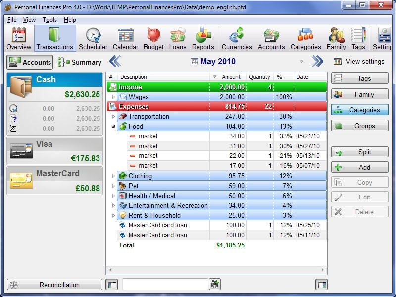 Best Personal Finance Software