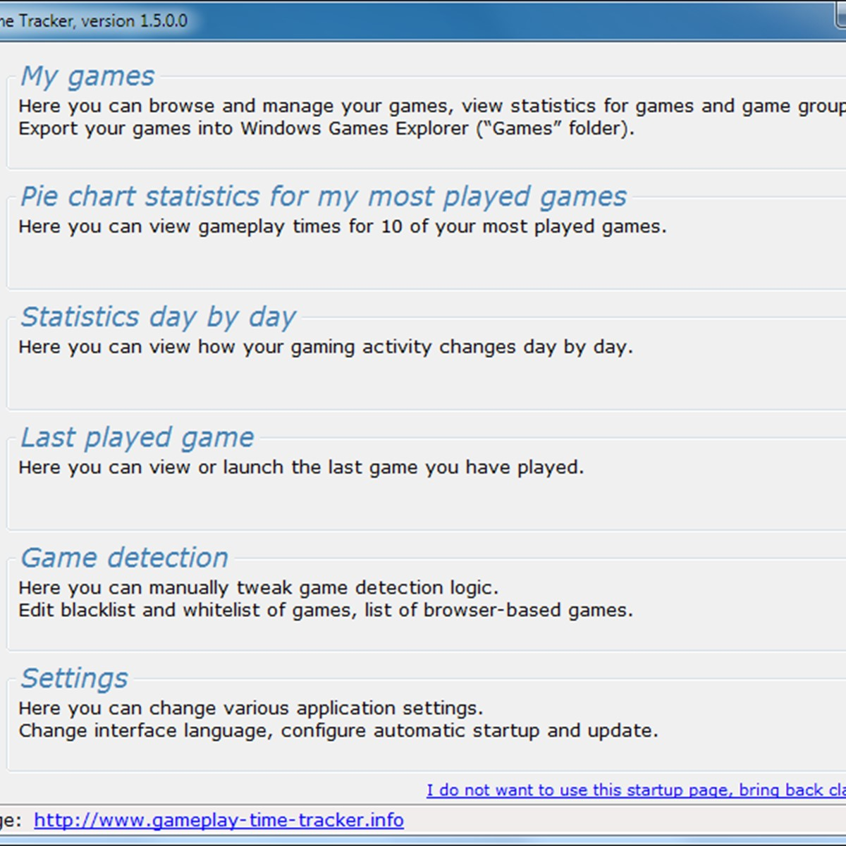 Gameplay Time Tracker Alternatives and Similar Software