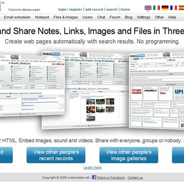 OnlineNotes Alternatives and Similar Websites and Apps