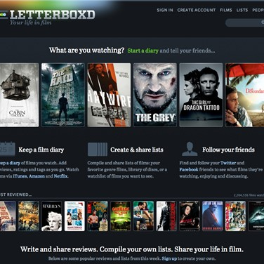 Letterboxd Alternatives and Similar Apps and Websites