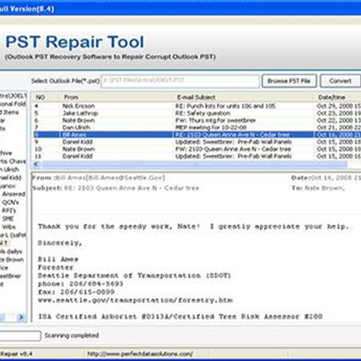 Fix Outlook 2007 Search Problems – Name