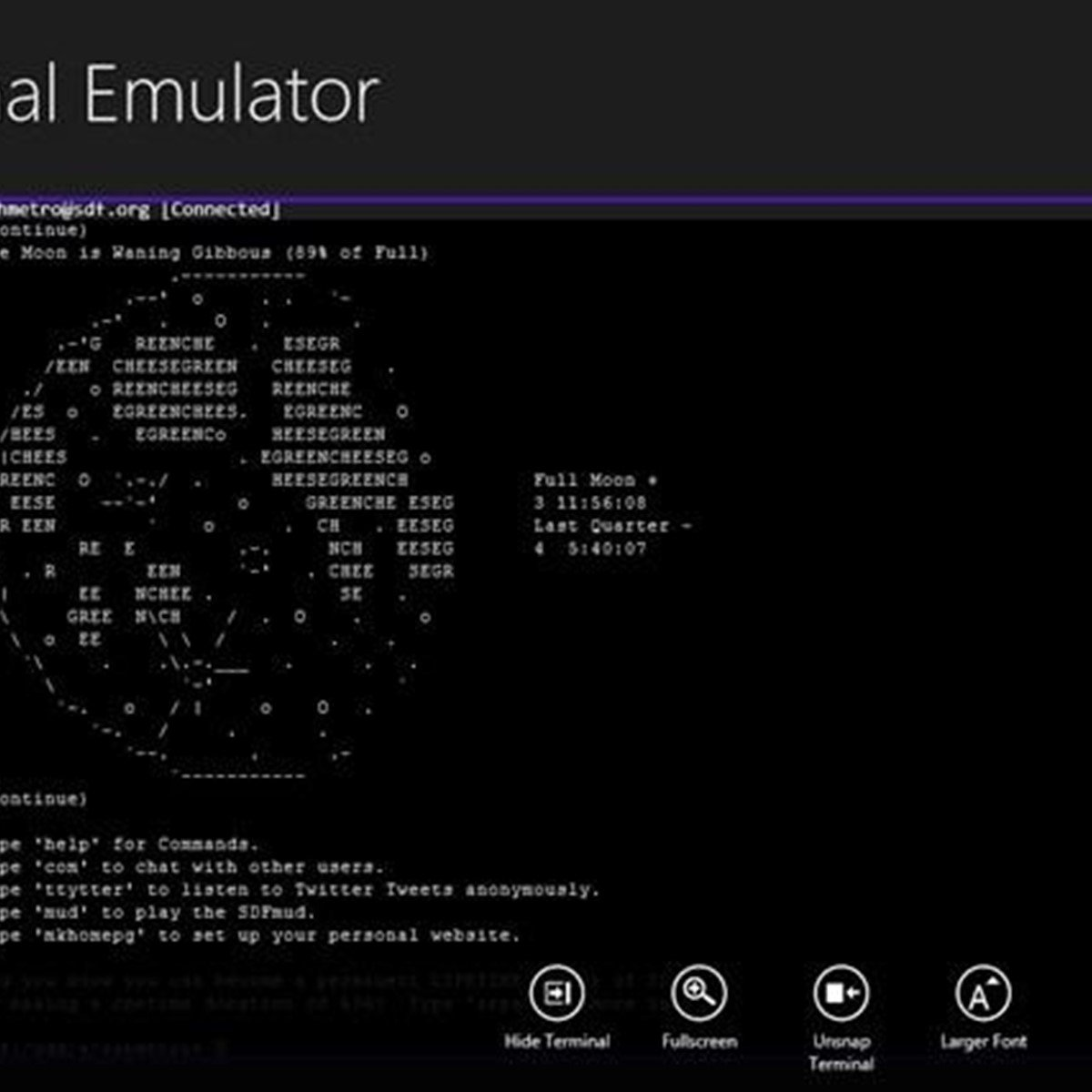 Write your own terminal emulator