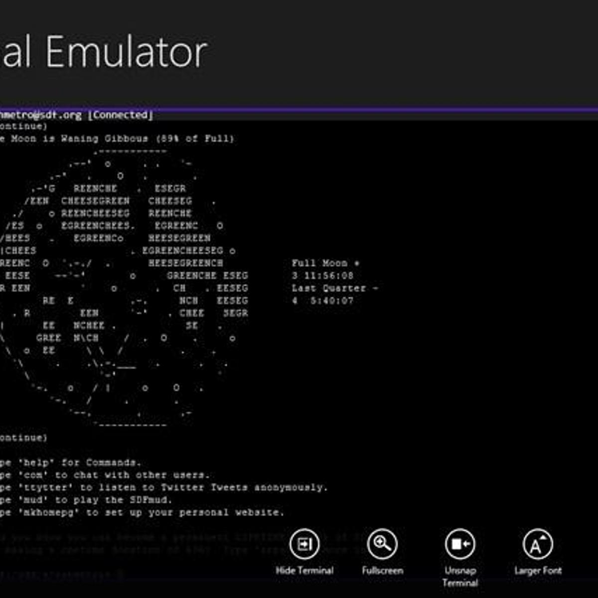 Write your own terminal emulator