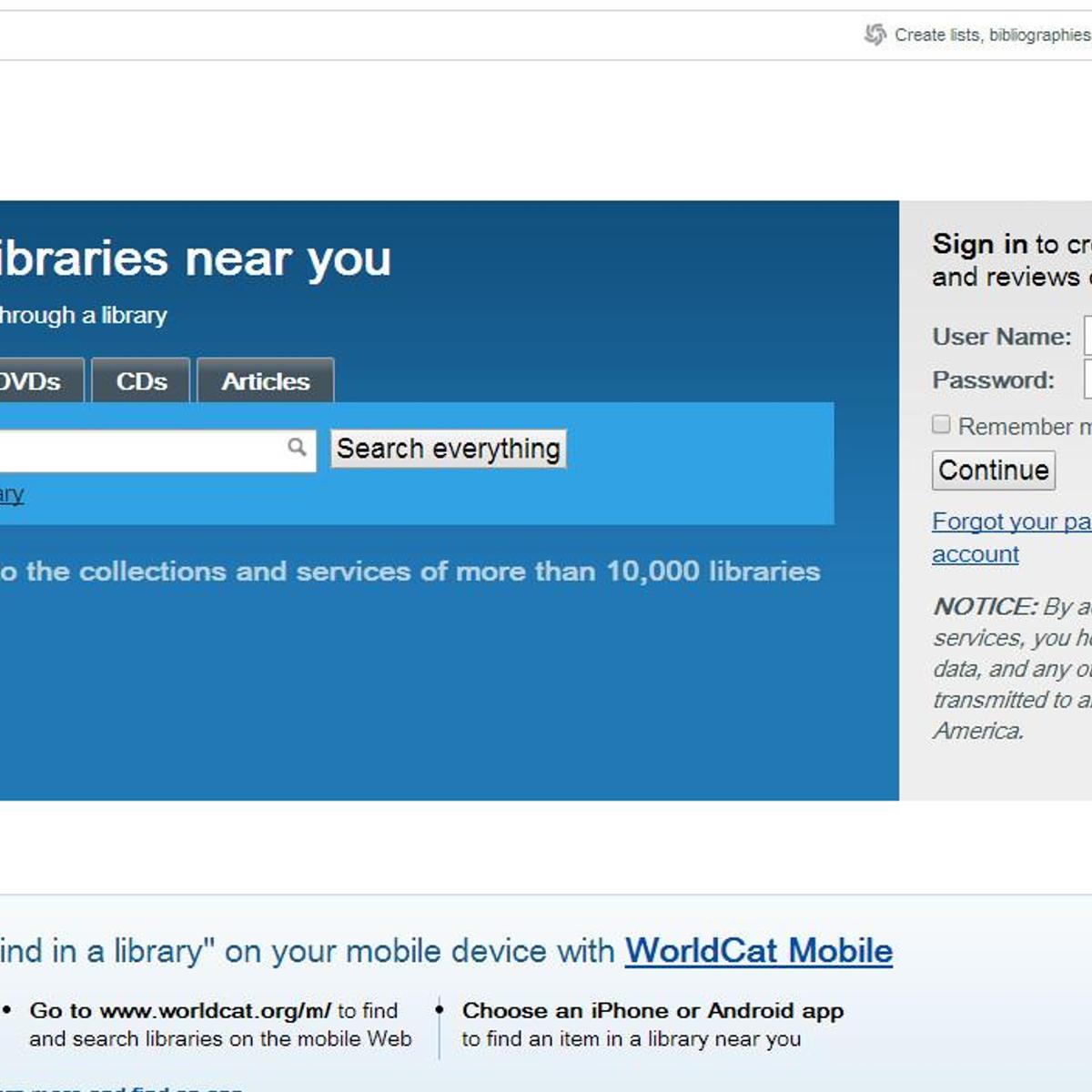 Worldcat Alternatives and Similar Websites and Apps - AlternativeTo net