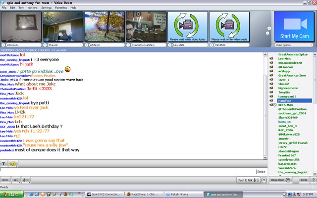 Messenger Chat Room Security Admin