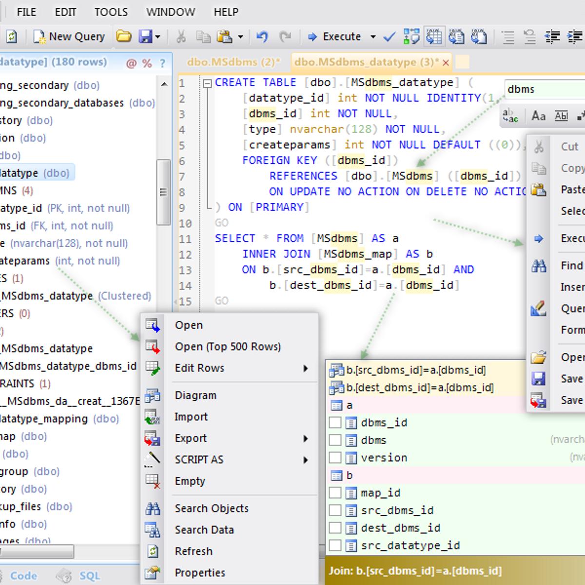 Database  NET Alternatives and Similar Software