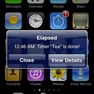 Alerts even when Elapsed app is not running