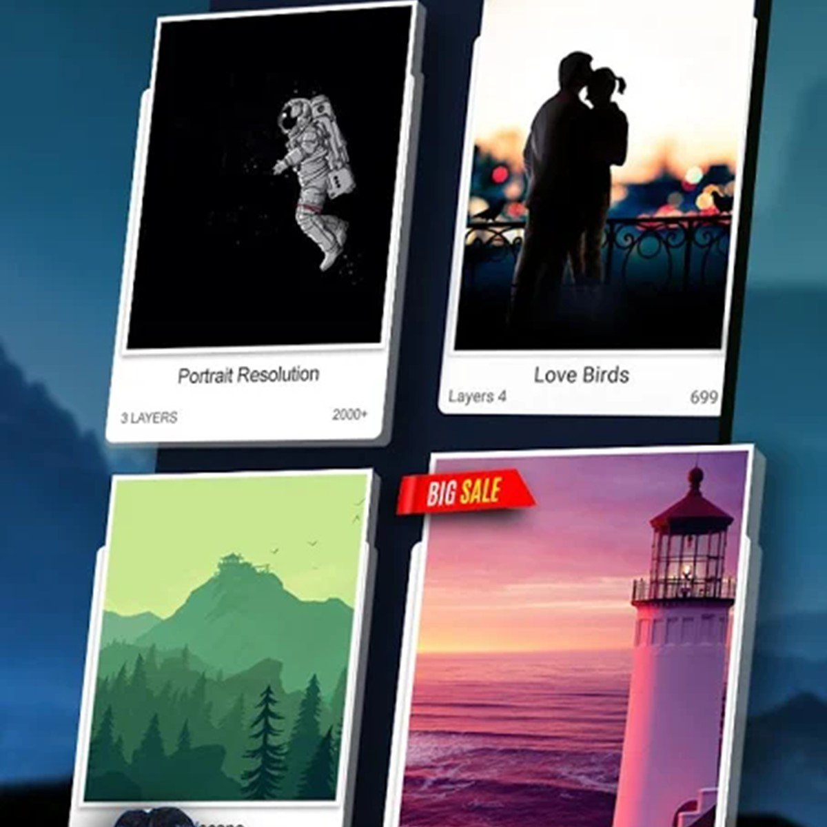 3D Wallpaper Parallax Alternatives And Similar Apps