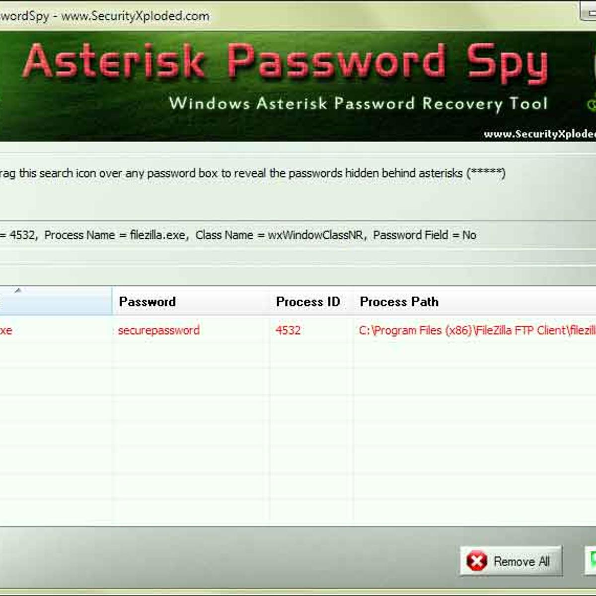 Asterisk Password Spy Alternatives and Similar Software