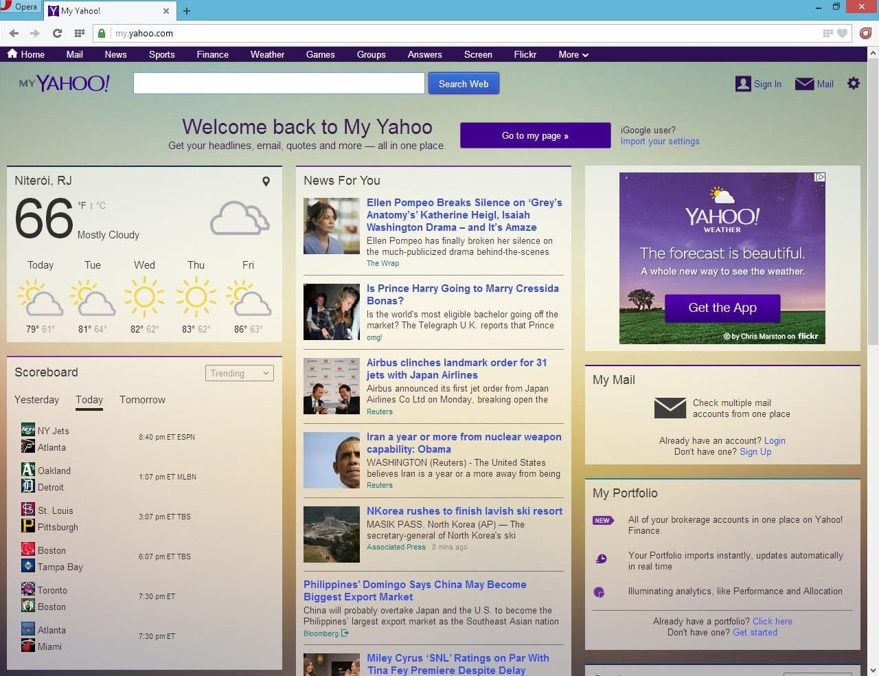 My Yahoo Alternatives and Similar Websites and Apps