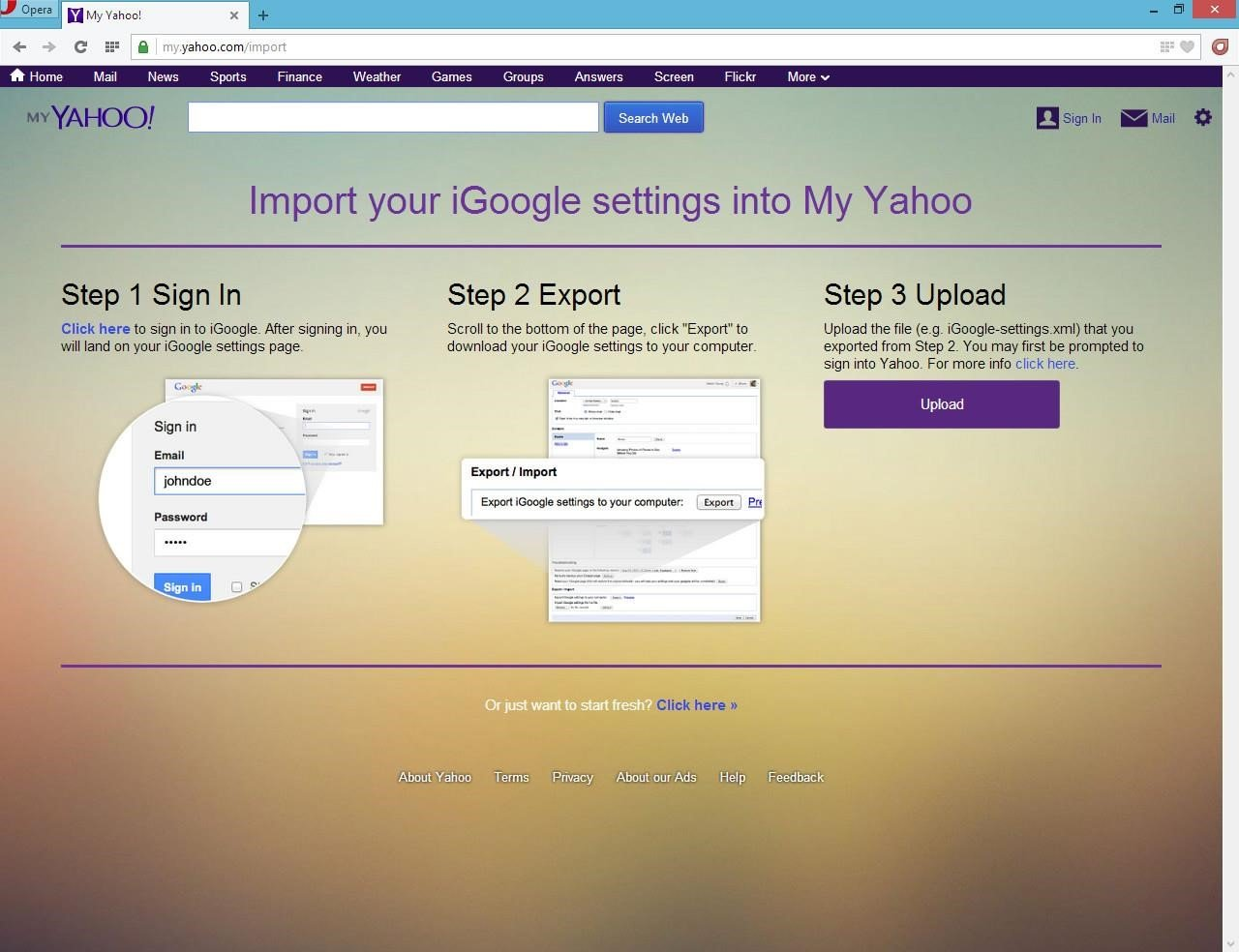 It's Possible To Update Thermation On My Yahoo Or Report It As  Discontinued, Duplicated Or Spam
