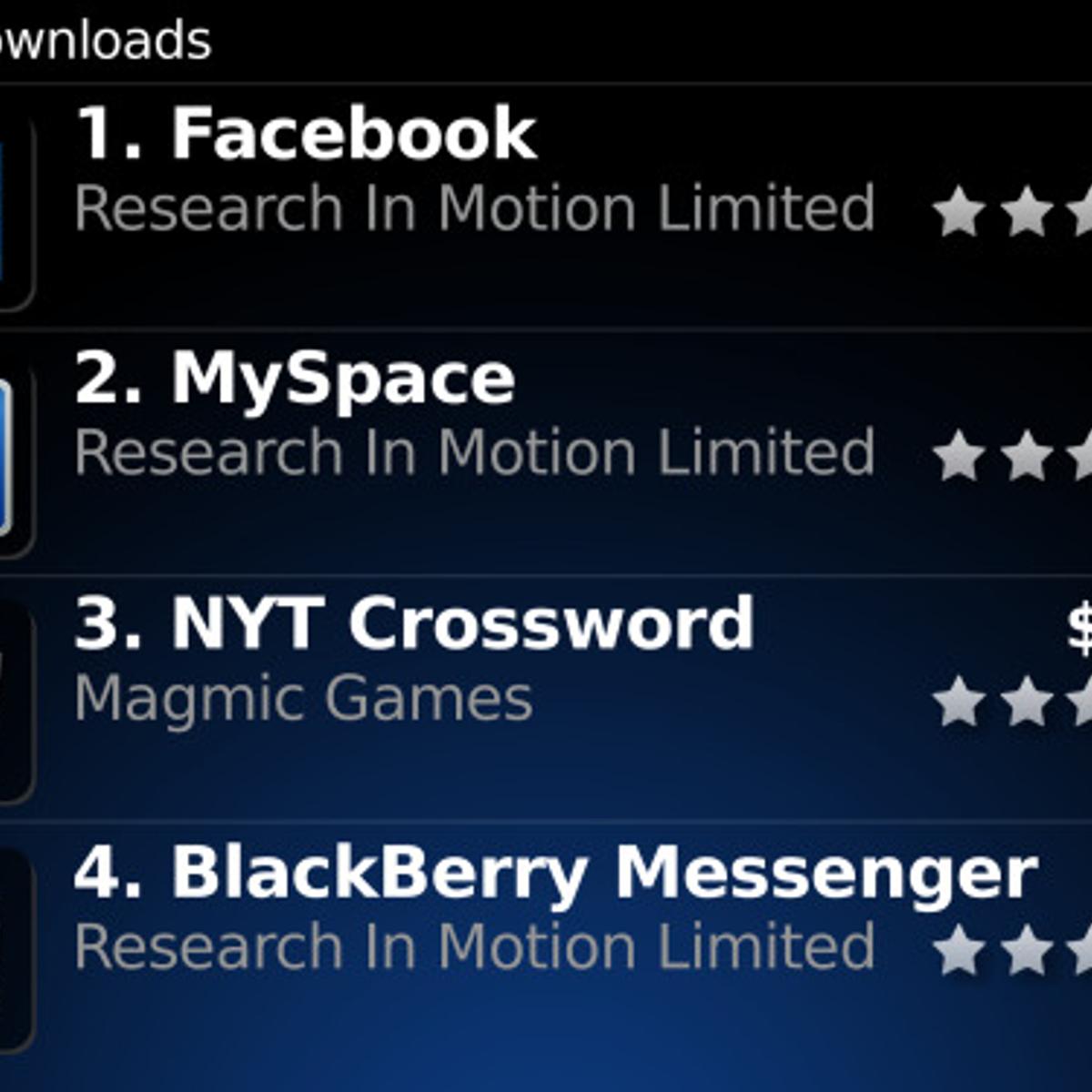 BlackBerry App World Alternatives and Similar Apps and