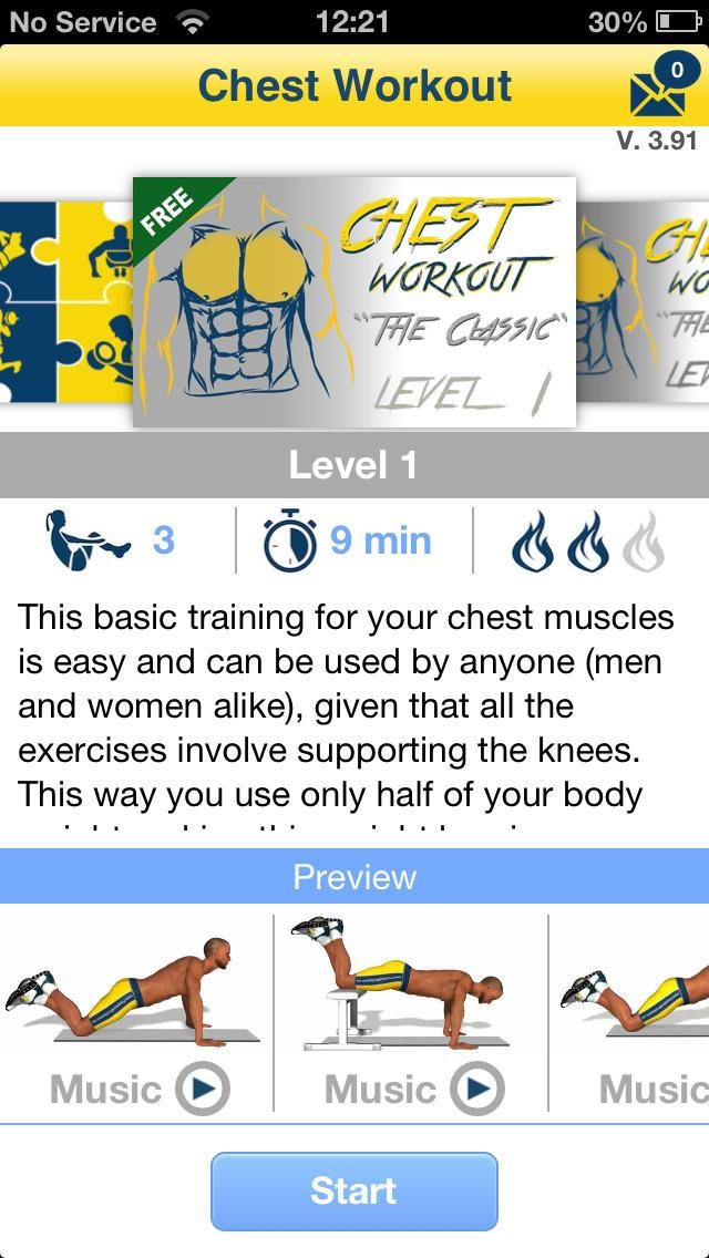 Chest Workout Alternatives and Similar Apps and Websites
