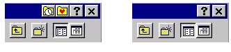 Standard Windows File/Save As… box with and without FileBox eXtender buttons