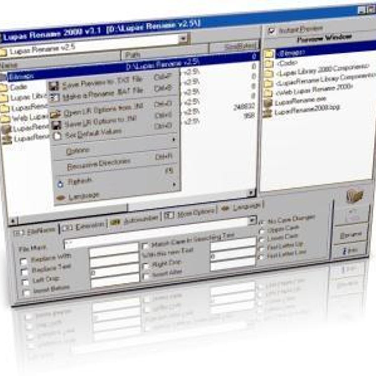 Lupas Rename 2000 Alternatives and Similar Software