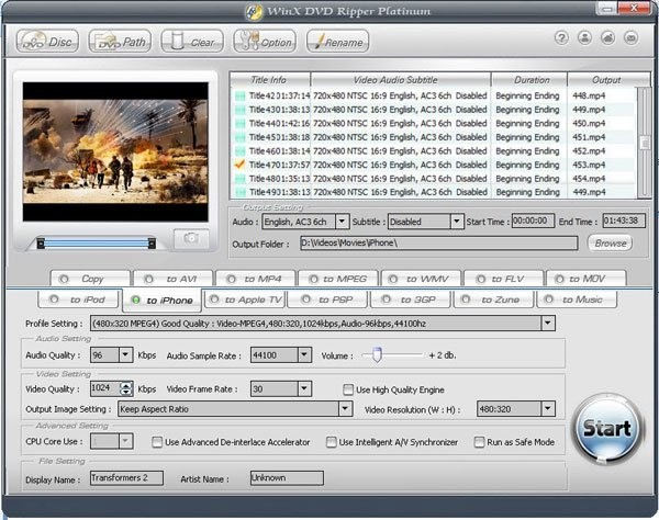 Free or Open Source WinX DVD Ripper Alternatives for Windows