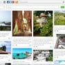 This is the primary view of eyeCanGo. It lists travel blogs submitted by a community. Scroll down to see more posts or click on an image to visit the original blogpost and read more about a trip. icon